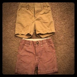 Boy's Gap shorts, size 2 Toddler